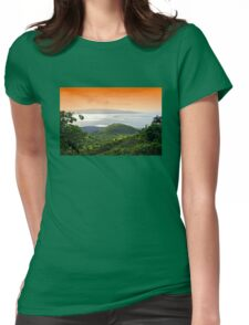 Stunning Upcountry View Womens Fitted T-Shirt