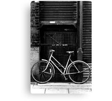 Bicycle, Manchester Canvas Print