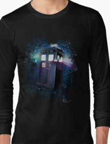Tardis Burst Long Sleeve T-Shirt