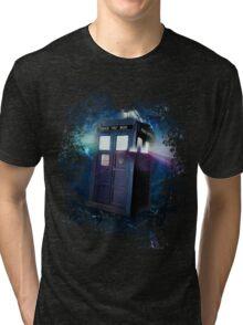 Tardis Burst Tri-blend T-Shirt