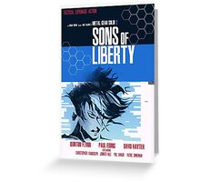 Liberty - Metal Gear  Greeting Card