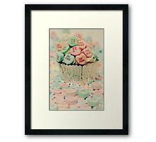_Love Cupcake Framed Print