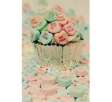_Love Cupcake Photographic Print