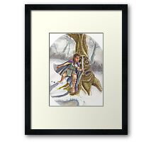 Hunting Giants Framed Print