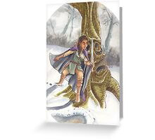 Hunting Giants Greeting Card
