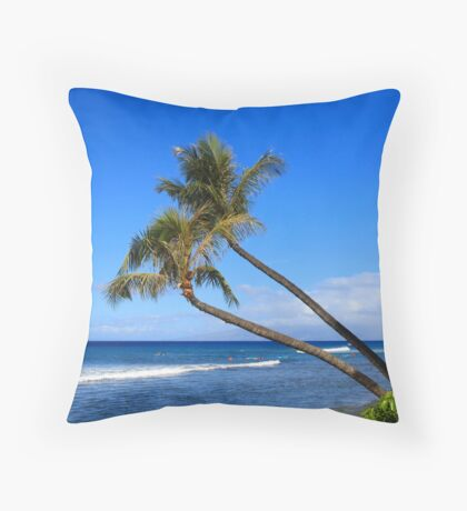 Kaanapali Hawaii Throw Pillow