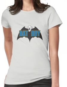 Bat Boy! Womens Fitted T-Shirt