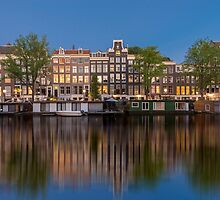 Amsterdam reflections by pahas
