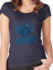 Patterson's Blue Foot Women's Fitted Scoop T-Shirt