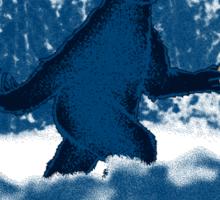 Patterson's Blue Foot Sticker