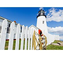 Pemaquid Point Lighthouse Photographic Print