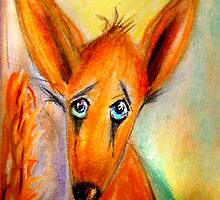 Lester The Lonely Fox by Angela  Burman