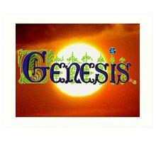 Genesis. Art Print
