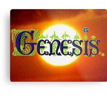 Genesis. Metal Print