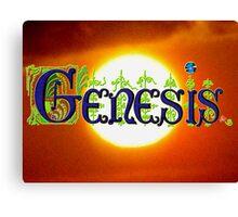 Genesis. Canvas Print