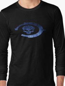 Oddball Halo Skull Long Sleeve T-Shirt