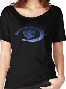 Oddball Halo Skull Women's Relaxed Fit T-Shirt