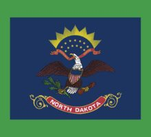 State Flags of the United States of America -  North Dakota Baby Tee