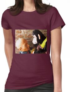 The Stare-Down Womens Fitted T-Shirt