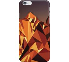 Night Mountains No. 7 iPhone Case/Skin