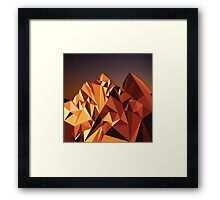 Night Mountains No. 7 Framed Print