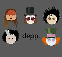 Depp. (Johnny Depp characters) by kzenabi