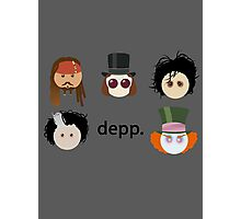 Depp. (Johnny Depp characters) Photographic Print