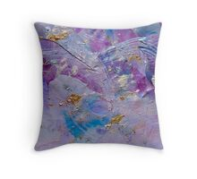 Lavender Haze Throw Pillow
