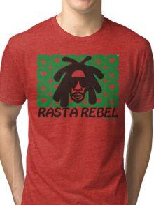 RASTA REBEL POT Tri-blend T-Shirt