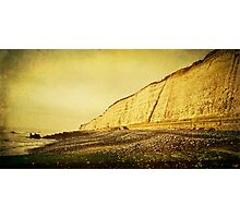 The Undercliff Walk Photographic Print