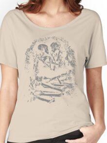 Eternal Embrace Grey Women's Relaxed Fit T-Shirt