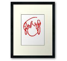 Ramona Flowers Red - Scott Pilgrim vs The World Framed Print