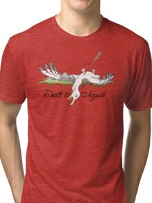Death to Seagulls Tri-blend T-Shirt
