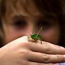 Keegan's Grasshopper by Joe Randeen