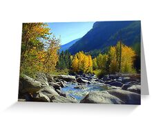 Entiat Fall Shoot I Greeting Card
