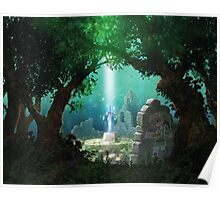 Approaching the Master Sword Poster