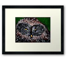 who ..who me? Framed Print