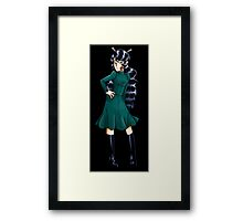Leah of Hel Framed Print