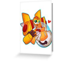 Bee and Blades Greeting Card