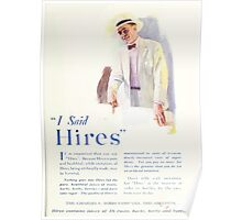 Advertisements Photoplay Magazine July through December 1920 0137 Hires Poster