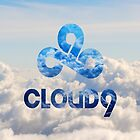C9 CLOUD 9 GAMING CLOUDY LCS CSGO LOGO by Mike Edinger