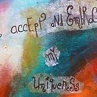 I accept and embrace my Uniqueness by Nolwenn