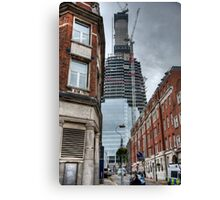 The Shaping of the Shard Canvas Print