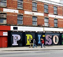 Urban message - Prison Dublin by heartyart