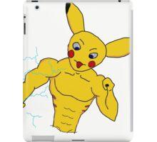 badass pika iPad Case/Skin