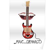 Mac Demarco cardboard guitar  Poster