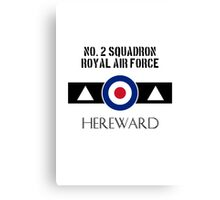 No. 2 Squadron - RAF Canvas Print