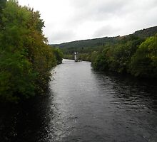 River Ness at Fort Augustus by Andy Jordan