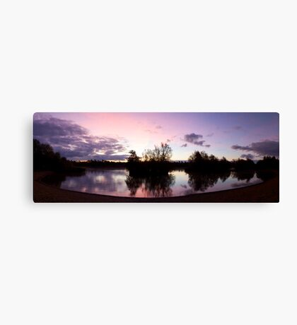 Crown Lakes Country Park  Canvas Print