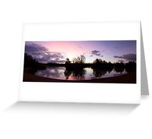 Crown Lakes Country Park  Greeting Card